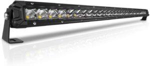 LED Light Bar Single Row Flood