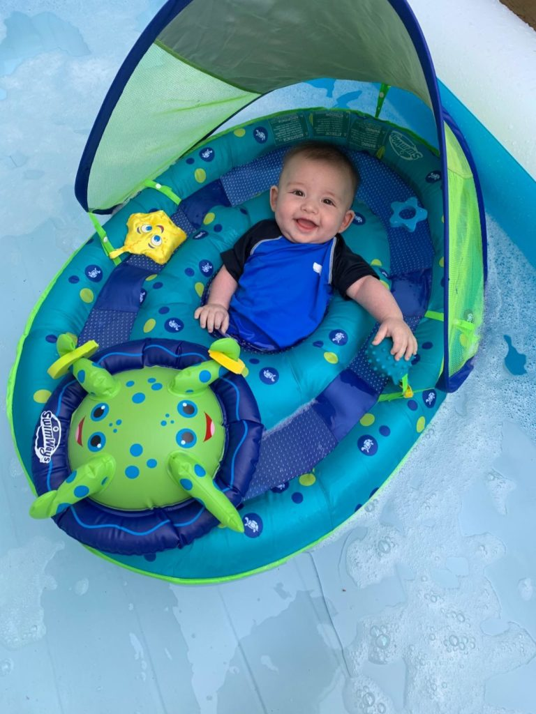 SwimWays Baby Spring