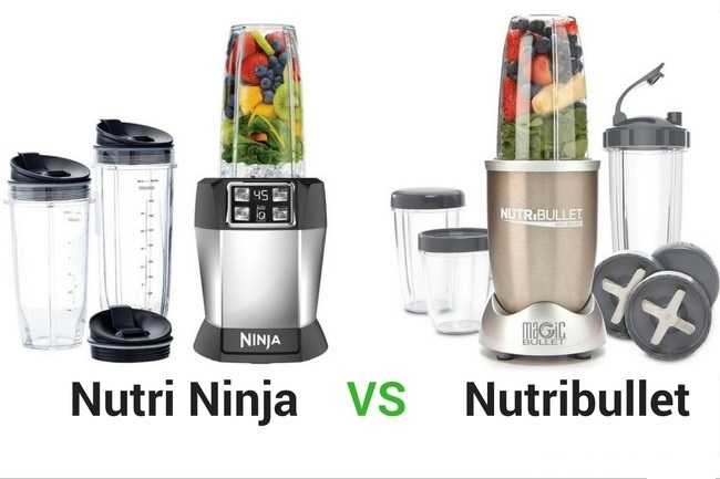 nutribullet vs ninja